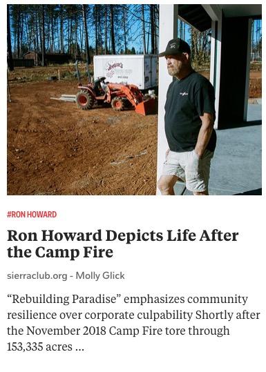 https://www.sierraclub.org/sierra/ron-howard-depicts-life-after-camp-fire