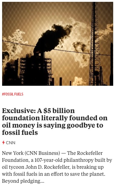 https://www.cnn.com/2020/12/18/investing/rockefeller-foundation-divest-fossil-fuels-oil/
